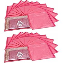 Get Kuber Industries Single Packing Saree Cover 24 Pcs Set (Pi at Rs 499   Amazon Offer