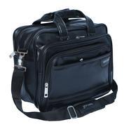 Get Kuber Industries Soft Leather 15,6-Inch Black Laptop Briefcase,Laptop Bag,Office Bag at Rs 1272
