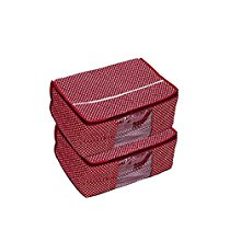 Get Kuber IndustriesTM Maroon 3 Layered Quilted Printed Trans at Rs 272 | Amazon Offer