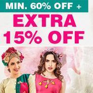 Get Kurtis Combo Minimum 60% OFF + Extra 15% OFF | homeshop18 Offer