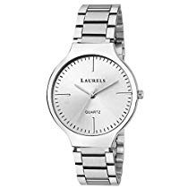 Get Laurels Alice Silver Dial Analog Wrist Watch – For Women at Rs 329 | Amazon Offer