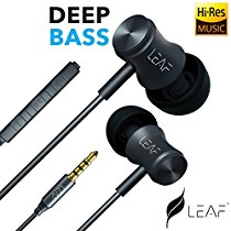 Get Leaf Bolt Wired Earphone (Black) at Rs 799 | Amazon Offer