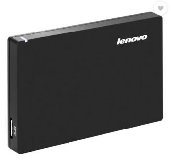 Get Lenovo External Hard Disk Drive 1TB / 2TB at Rs 3499 | Amazon Offer