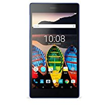 Get Lenovo Tab 3 730X Tablet (7 inch, 16GB, Wi-Fi + 4G + Voice Calling), Black Blue at Rs 9499   Ama