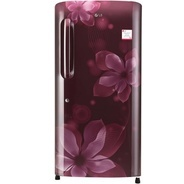 Get LG 215 L Direct Cool Single Door Refrigerator (Scarlet Orchid, GL-B221ASOX) at Rs 17498 | Flipka
