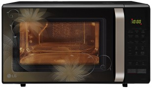 Get LG 28 L Convection Microwave Oven (MC2846BCT, Black) at Rs 15190 | Amazon Offer