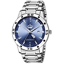 Get LimeStone Day & Date Watch For Men's & Boy's – (LS2700) at Rs 379 | Amazon Offer