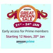 Get Live at 12PM - Early Access for Prime Members | Amazon Offer