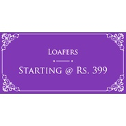 Get Loafers Start Rs.399 at Rs 399 | homeshop18 Offer