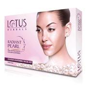 Get Lotus Radiant Pearl Facial Kit 37 g (Set of 4) at Rs 140 | Flipkart Offer