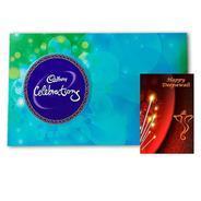Get Maalpani Diwali Card with Chocolate Gift - Cadbury Celebration For Shubh Deepalvali at Rs 244  