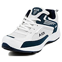 Get Maddy White & Blue Sport & Running Shoes For Men In Various Sizes at Rs 427 | Amazon Offer