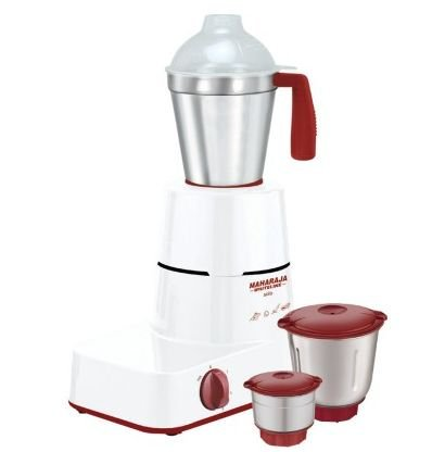 Get Maharaja Whiteline Solo MX 122 500 W Mixer Grinder 3 Jars      at Rs 1890 | Amazon Offer