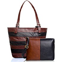 Get mammon Womens Handbag with Sling Bag Combo HScombobelt at Rs 563 | Amazon Offer