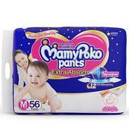 Get Mamy Poko Medium Size Baby Diapers (56 count) at Rs 482 | Amazon Offer
