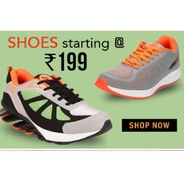 Get Men Shoes Starting At Rs.199 | Yepme Offer