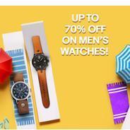 Get Men Watches Upto 70% OFF   ebay Offer