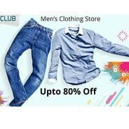 Get Mens Clothing Store Upto 80% OFF | Shopclues Offer