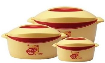 Get Milton Casserole Orchid Junior Gift Set of 3 at Rs 599 | Flipkart Offer
