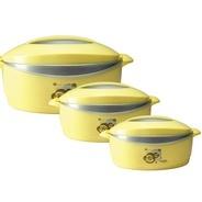Get Milton Desire Junior Pack of 3 Casserole Set (500 ml, 1000 ml, 1500 ml) at Rs 499 | Flipkart Off