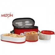 Get Milton Double Decker Soft Insulated Lunch Box      at Rs 186 | Amazon Offer