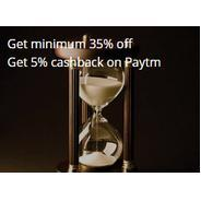 Get Minimum 35% OFF + Extra 5% Cashback on Paytm | oyorooms Offer