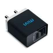 Get Mivi 3.1A Dual Port Smart Wall Charge Adapter at Rs 629 | Amazon Offer