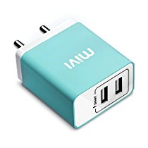Get Mivi 3.1A Dual Port Smart Wall Charge Adapter (Blue) at Rs 629 | Amazon Offer
