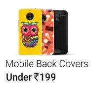 Get Mobile Cases & Covers Under Rs.199 at Rs 199 | Flipkart Offer