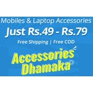 Get Mobiles and Laptops Accessories Start Rs.49 at Rs 49 | Shopclues Offer