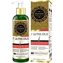 Get Morpheme 7 Ultra Hair Oil 120 ml Almond Castor Jojoba Coconut at Rs 375 | Amazon Offer