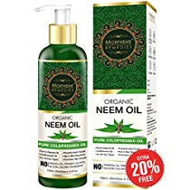 Get Morpheme Pure Organic Neem Oil ColdPressed Undiluted 120ml at Rs 225 | Amazon Offer