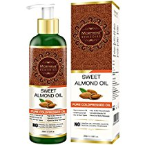 Get Morpheme Pure Sweet Almond Oil 200 ml (ColdPressed) For Hai at Rs 479 | Amazon Offer
