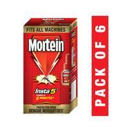 Get Mortein Insta 5 Mosquito Repellent (Refill) - Pack of 6 at Rs 216 | Grofers Offer