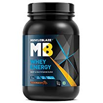 Get MuscleBlaze Whey Energy with Dizegyme1kg at Rs 1299 | Amazon Offer