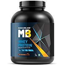 Get MuscleBlaze Whey Protein 44 lb 2 kg Rich Milk Chocolate at Rs 3699 | Amazon Offer