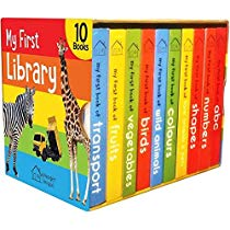 Get My First Library Boxset of 10 Board Books Kids at Rs 325 | Amazon Offer