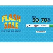 Get Myntra Flash Sale - Flat 50% - 70% OFF On Clothings | Myntra Offer