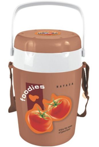 Get Nayasa Foodies Plastic Tiffin 4 Pieces     at Rs 371 | Amazon Offer