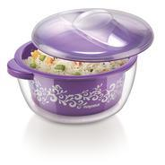 Get Nayasa Nova Plastic Casserole with Spoon, 1.5 Litres, Purple at Rs 237 | Amazon Offer