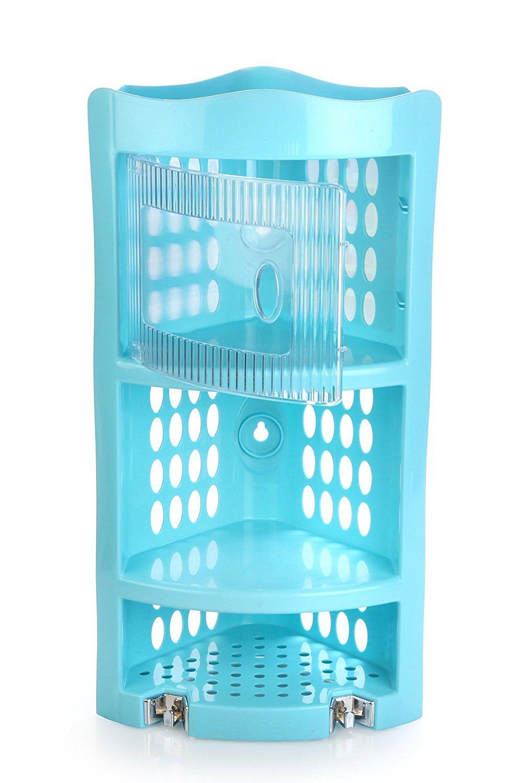 Get Nayasa Plastic Corner Rack, Blue (SKU-111 (61)) at Rs 346   Amazon Offer