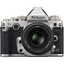 Get Nikon 1528 DF 16.2 MP CMOS FX-Format Digital SLR Camera (Black) with AF-S Nikkor 50mm f/1.8G Len
