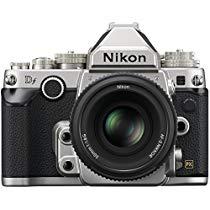 Get Nikon 1528 DF 16.2 MP CMOS FX-Format Digital SLR Camera (Black) with AF-S Nikkor 50mm f/1.8G Len