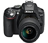 Get Nikon D5300 24.2MP Digital SLR Camera (Black) with AF-P 18-55mm f/ 3.5-5.6g VR Kit Lens, Card an