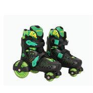 Get Nivia Junior Quad Roller Skates - Size Xs(26-29) (Black, Green) at Rs 1591 | Flipkart Offer