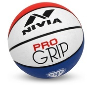 Get Nivia Pro Grip Basketball - Size: 7 (Pack of 1, White, Blue) at Rs 265 | Flipkart Offer