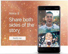 Get Nokia 8 With 13MP Dual Cameras, 2K Display, Snapdragon 835      at Rs 36999 | Amazon Offer