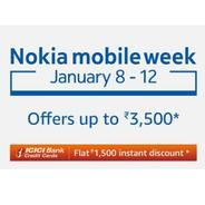 Get Nokia Mobile Week - Offers Upto Rs.3500 OFF | Amazon Offer