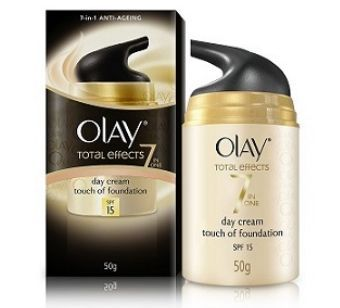 Get Olay Total Effects 7 in 1 Anti Aging Skin Cream (Moisturizer) Normal, 50g at Rs 400 | Amazon Off