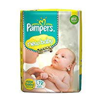 Get Pampers Active Baby New Born Diapers (72 Count) at Rs 649 | Amazon Offer